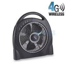 Wireless Hidden Camera Fan - See the Worlds Best WiFi Hidden Cameras at http://www.spygearco.com/secureshothdliveview-hiddencameras.php