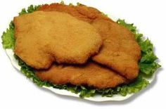 escalope alla Milanese: The best way to eat chicken, take the most juicy and tender part and egg and bread it- and its healthy!