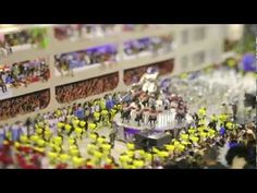 I want to go to Rio for Carnival!!!  'The Sound Of Samba': Rio's Carnival In Tilt-Shift Miniature