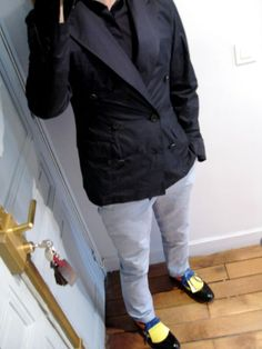 Shoes from Prada, pant from Zara and Jacket from Lanvin