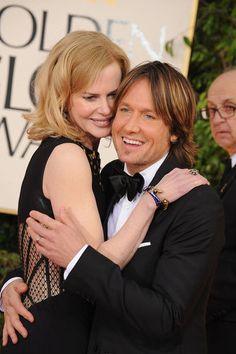 Nicole Kidman and Keith Urban #GoldenGlobes