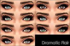 Mod The Sims - Dramatic Flair -7 mascaras-