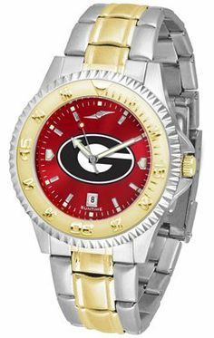 Georgia Bulldogs- University Of Competitor Anochrome - Two-tone Band - Men's - Men's College Watches by Sports Memorabilia. $95.43. Makes a Great Gift!. Georgia Bulldogs- University Of Competitor Anochrome - Two-tone Band - Men's