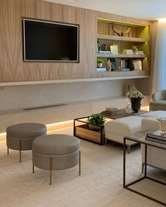 27 veces he visto estas radiantes muebles minimalistas. Living Room Carpet, Home Living Room, Living Room Decor, Living Spaces, Home Room Design, Interior Design Living Room, Living Room Designs, Sala Grande, Appartement Design