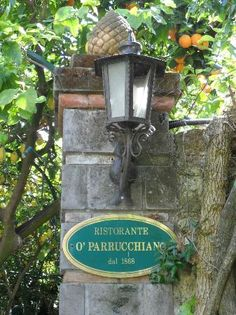 Parruchiano's Restaurant, Sorrento, Italy