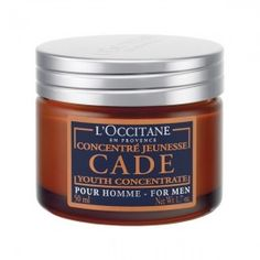 L'Occitane Cade Youth Concentrate for Men. I only use L'Occitane products, and I have really sensitive skin. Their men's line would work great for a man too. Best Beard Balm, Cade, Juniper Essential Oil, Beard Wax, Beard Conditioner, Occitane En Provence, Beard Look, Skin Care Treatments, Skin Firming