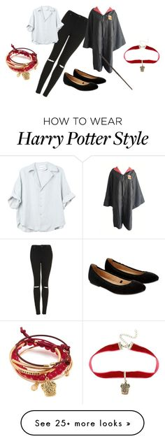 """Harry Potter"" by ann3b3ar5 on Polyvore featuring Topshop and Accessorize"