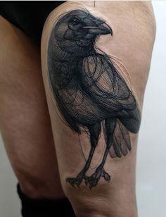 Jan Mráz Raven Tattoo