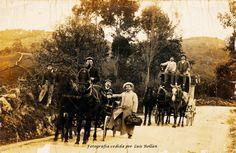 Carruajes de punto año 1899.Gijón