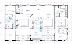 Two Living Areas Mobile Home Floor Plans
