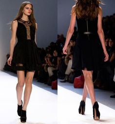 JIll Stuart Little Black Dress