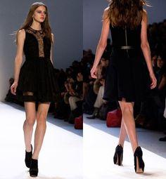 JIll Stuart Little Black Dress