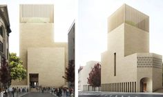 Berlin's First Church-Mosque-Synagogue