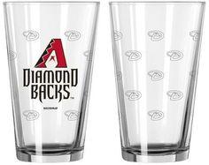 MLB Boelter Brands MLB Arizona Diamondbacks Set of 2 Pint Glass - 16oz