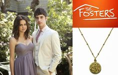 Sophia & Chloe's Peace, Love & Happiness necklace, as seen on @Maia Mitchell of ABC Family's #TheFosters , is 25% off at www.sophiaandchloe.com thru 5.12.14!!!