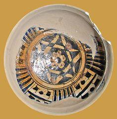 İznik Milet ware, dish, red clay,15th century, İstanbul Archeology Museum  (Erdinç Bakla archive)