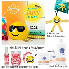 New Summer Collection 2017 for Scentsy!!! I LOVE IT!! Http://phillipsac.scentsy.us