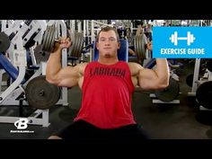 Dumbbell Shoulder Press with Hunter Labrada | Exercise Guide - YouTube