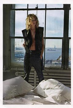 Haider Ackermann  VOGUE Paris  February 2013 issue  Anja Rubik  Styled by Melanie Ward