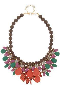 jewel statement necklace - Brina Box