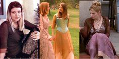 Tara's gorgeous corset dress in Buffy the Vampire Slayer