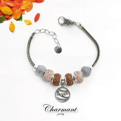 Di tutte le stagioni, l'autunno è quella che offre di più e chiede di meno. Componi il tuo bracciale Charmant con emozionanti colori autunnali.  Scopri la collezione Charmant sul sito: www.charmantjewelry.com  #charmantjewelry #novità #beads #bead #braccialecomponibile  #autunno