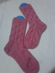 'Bubble Yum' Sock pattern by Raquel Gaskell