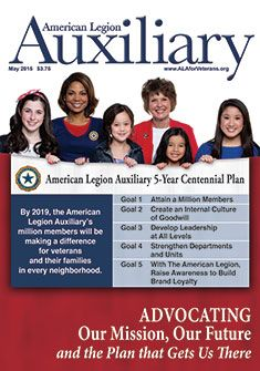 Auxiliary magazine, Vol. II, May 2015 American Legion Auxiliary, American Legions, Extraordinary People, Magazine Covers, The Unit, How To Plan, Motivation, Education, Girls