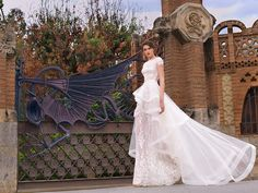 Natalia Vasiliev wedding dress ivory