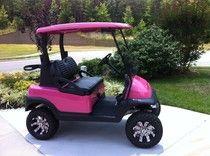 Lifted Custom Cart - golf cart, club car, Triad Golf Carts, customize, custom golf cart, wheels/tires, Club Car Precedent, golf cart battery, golf cart batteries