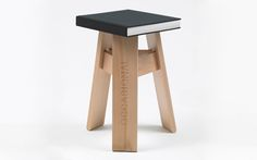 Occasional, limited edition of 8 pieces + 2 A. Small Wooden Stool, Wooden Stools, Design Furniture, Wood Furniture, Furniture Inspiration, Cool Designs, Objects, Minimalist, Concept