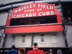 First Cubs game 7/6/2013. #cubs# Chicago# cubs fan# cubs baseball
