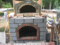 Wood Fired / Brick Oven Pizza Construction - Build Your Own!