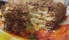 Творожный торт с печеньем | Самые вкусные кулинарные рецепты