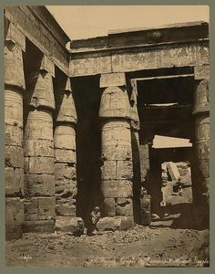 Temple of Rameses 1800s
