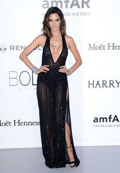 Gala amfAR en Cannes: Alessandra Ambrosio
