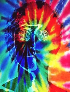 John Lennon // psychedelic art // kaleidoscope eyes // tie dye rainbow magic