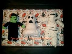 Frank Jr., Boo for You & I Want My Mummy - free crochet patterns