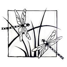Dragonflies Steel Wall Sculpture from Modern Artisans Metal Wall Sculpture, Steel Sculpture, Wall Sculptures, Kirigami, Stencils, Dragonfly Wall Art, Pyrography Patterns, Wood Burning Patterns, Gourd Art