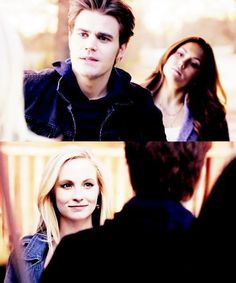 The Vampire Diaries | Stefan, Caroline, and Elena (Stefoline!)