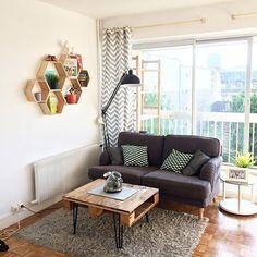 Appartement lumineux + jolie table basse