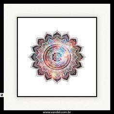 Mandala, indiano, índia, universo