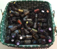 What to do with all of your empty oil bottles?? Once you and your family have been using oil for awhile, you will have quite a collection of almost empty bottles (I say almost empty because it has been estimated that there could be even 5 drops of oil on the inside of a bottle when we think it is empty)! You can use these last drops of oil by re-purposing the bottles!