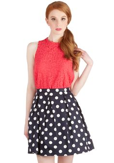 See You Round Skirt, #ModCloth