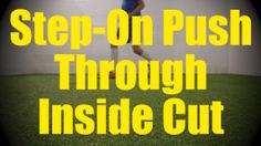 Step-On Push Trough Inside Cut - Static Ball Control Drills for Soccer Training Drills, Football Drills, Soccer Tips, Soccer Games, Soccer Stuff, Soccer Players, Confirmation, Coaching, Motivation