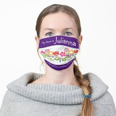Children Face Masks Kids Back to School Adult Cloth Face Mask - tap to personalize and get yours #AdultClothFaceMask #afflink #face #mask #for #school Back To School List, Best Face Mask, Face Masks, Mask For Kids, Masks Kids, Girls With Flowers, Child Face, Girl Face, Best Face Products