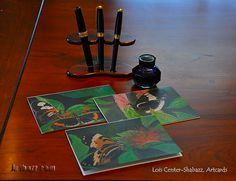 The butterfly paintings of Lois Center Shabazz on greeting cards or artcards.  #painting #art #artwork #artist #acrylicartist #artcards #greetingcards #blankgreetingcards #LoisCenterShabazz
