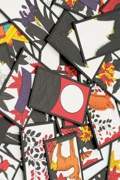 Hanafuda Japanese playing cards