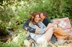 darling apple orchard engagement of Andrew + Jamie!