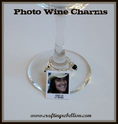I wanted to do something unique with wine charms so I made this tutorial on how to easily create your own photo wine charms using only a ...